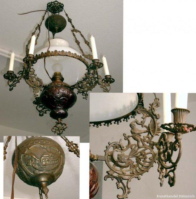 Antike Lampen Kaufen: Kunsthandel Helmrich: Antiquitäten